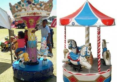 Carousels for parties and events